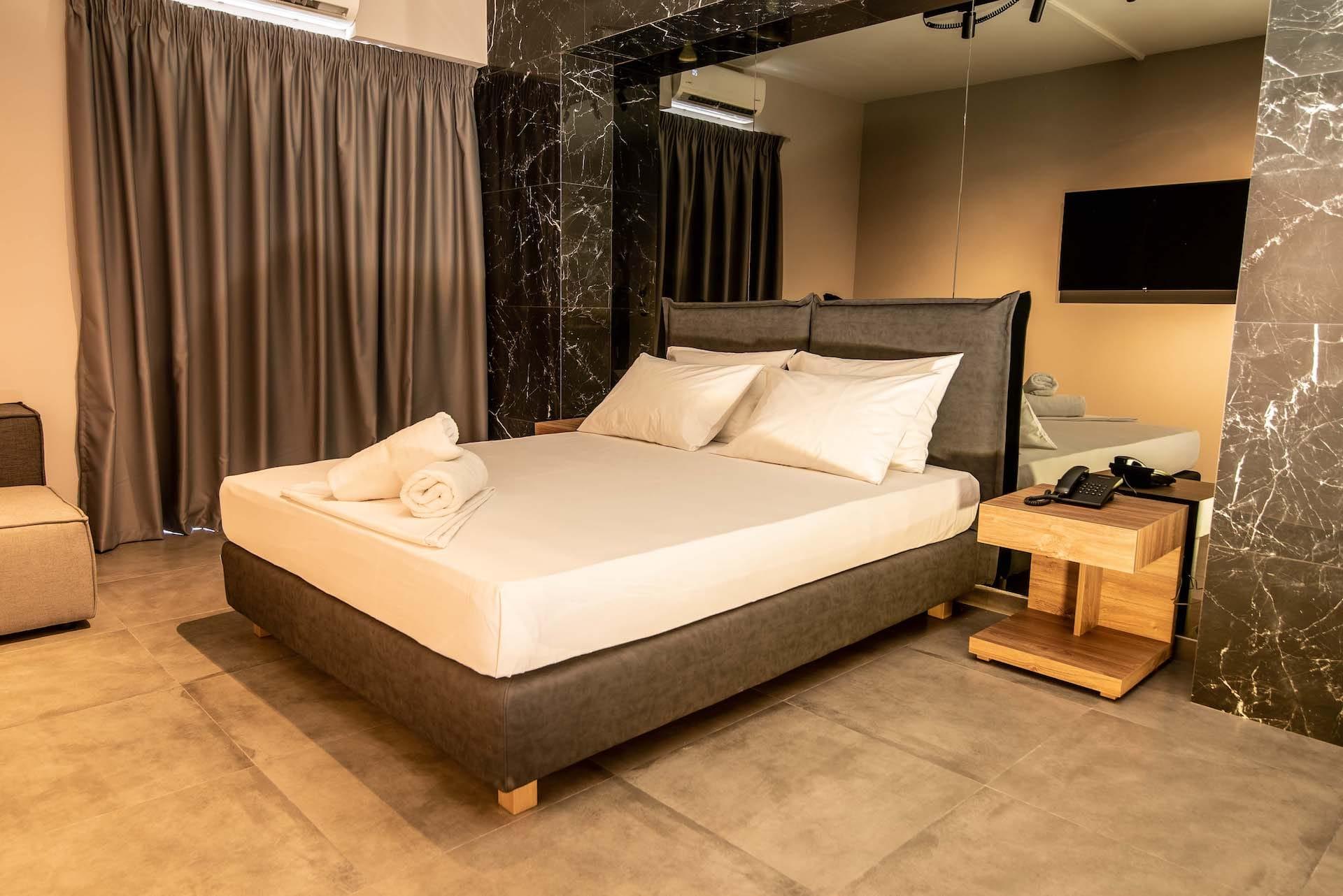 Το Zen Room στα Ruby Rooms στην Αθήνα. €20 ημιδιαμονή.
